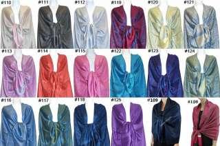 Cashmere Silk Wool Pashmina Scarf Shawl Wrap Cape 032s