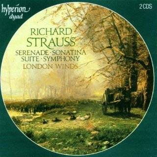 Music for Wind Ensemble Richard Strauss, Edo de Waart