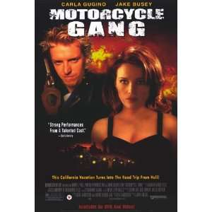 Motorcycle Gang Movie Poster (27 x 40 Inches   69cm x