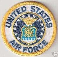Military USAF United States US Air Force Seal Patch