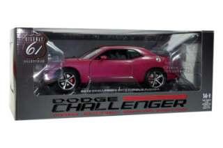 2010 Dodge Challenger SRT8 Furious Fuchsia DieCast 1/18