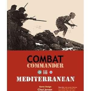 Combat Comander The Med Toys & Games