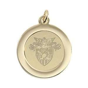 US Military Academy   Pendant Charm   Gold Sports