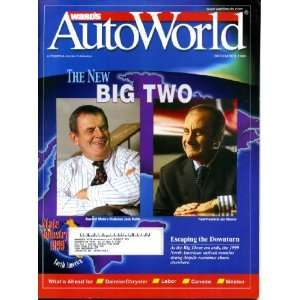 Wards Auto World December 1998 Jack Smith/GM & Jacques Nasser/Ford