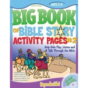 The Big Book of Bible Story Activity Pages #2 Help Kids Play, Listen