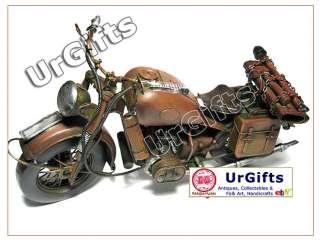 Hand Made Art Bar Decor Military Motorcycle 1/6 BMW R75 1942