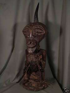Superb,African Tribal Art,SONGYE,Power,Figure,Antique