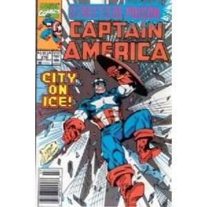 Captain America #372 Marvel Comics Books