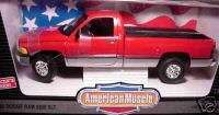 ERTL 118 1995 Dodge Ram 2500 SLT Red pickup