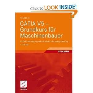 CATIA V5   Grundkurs für Maschinenbauer (German Edition