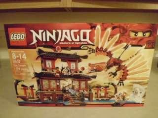 Lego 2507 NINJAGO FIRE TEMPLE New Factory SEALED Box