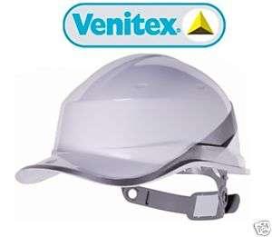 White Venitex Construction Hard Hat Safety Helmet NEW