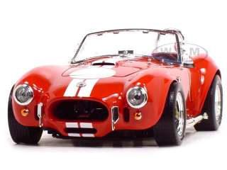1964 SHELBY COBRA 427 S/C RED 1:18 SCALE DIECAST MODEL