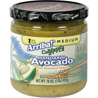 Arriba Avocado With Fire Roasted Tomatillos Salsa, 16 oz