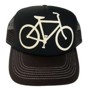 10 Speed Bicycle Bike Mesh Trucker Baseball Hat Cap Black