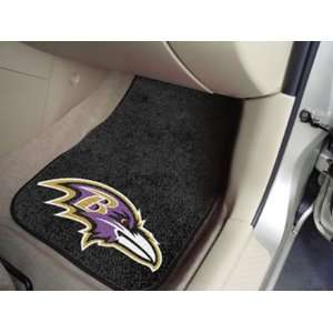 Baltimore Ravens New Car Auto Floor Mats Front Seat