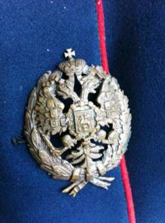 Imperial Russian Colonels uniform tunica&badges c1890s see