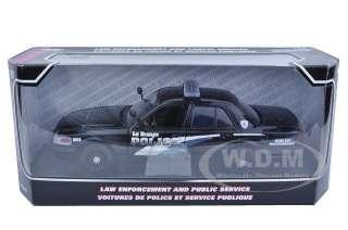 new 1 24 scale diecast 2007 ford crown victoria la grande police car