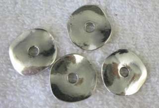 40pcs Tibetan Silver flat round charms FC8756