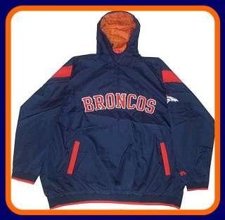 Denver Broncos NFL Windbreaker Jacket Big & Tall Sizes