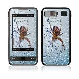 Dewy Spider Decorative Skin Cover Decal Sticker for Samsung Omnia SCH