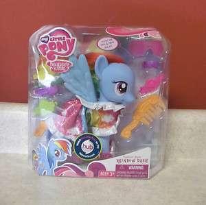 My Little Pony Fashion Rainbow Dash HUB Friendship Magic G4 2011