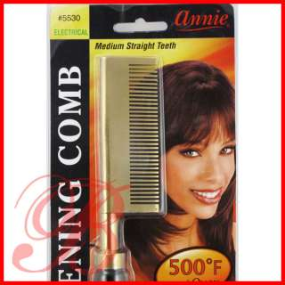 ANNIE Electrical Straightening Hot Comb Straight Teeth