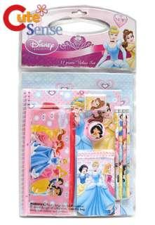Disney Princess Pink 11pc Stationary Set School/Party