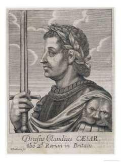 Tiberius Claudius Drusus Nero Germanicus Roman Emperor Giclee Print by