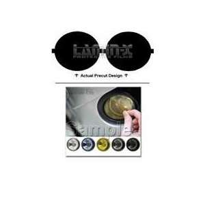 Toyota Tundra (03 06) Fog Light Vinyl Film Covers by LAMIN X Gun
