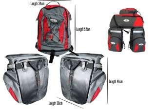 65L Cycling Bicycle Bike Bag Bike rear seat bag pannier