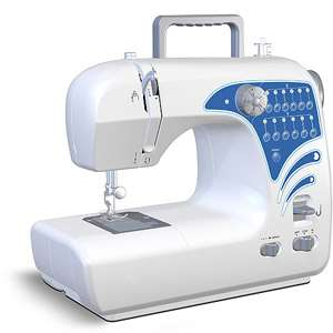 Michley Lil Sew & Sew 12 Stitch Sewing Machine