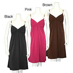 Pecas USA Womens Spaghetti Strap Dress