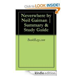 Neverwhere by Neil Gaiman  Summary & Study Guide BookRags