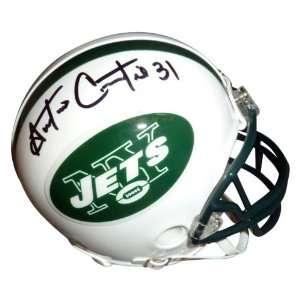 Antonio Cromartie Autographed New York Jets Mini Helmet