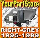 98 CHEVY GMC TRUCK 95 99 Suburban TAHOE INSIDE DOOR HANDLE Right GREY