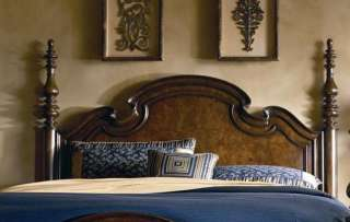 Furniture Hills of Tuscany Lucca Poster Headboard for King Bed
