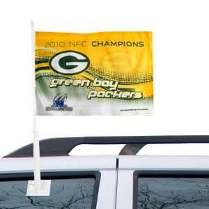 NFL Chicago Bears 2010 NFC Champion Car Flag Sports