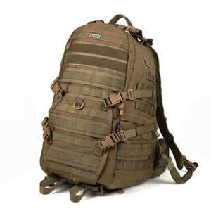 Military Tactical Backpack March Against Bag Waterproof MOLLE SYS   J