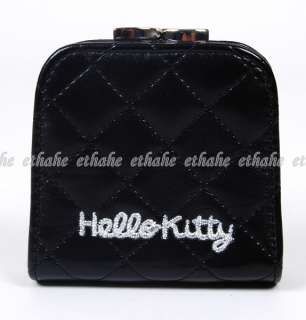 hello kitty heads and characters all over inside the purse easy to