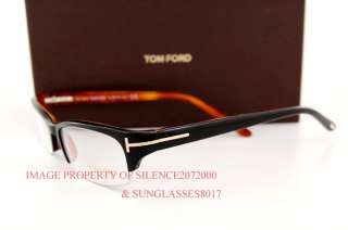 New Tom Ford Eyeglasses Frames 5122 005 BLACK MEN