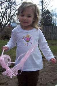 Fairy Princess Crown & Magic Wand LS Baby Toddler Shirt