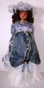 PORCELAIN VICTORIAN FANTASY DOLL COLLECTION 23 TALL
