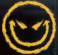 710 Smiley Face Heat Transfer T Shirt Fabric Iron On