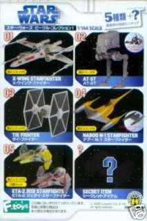 STAR WARS F TOYS NABOO N 1 STARFIGHTER MICRO MACHINES