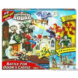 Marvel Super Hero Squad Mini Playset   Doom Castle with Dr