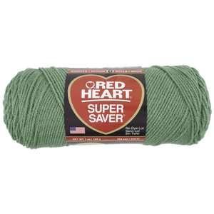 Red Heart Super Saver Yarn 631 Light Sage 7 oz Crafts