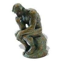 AUGUSTE RODIN Thinker Art Sculpture Figurine Statue