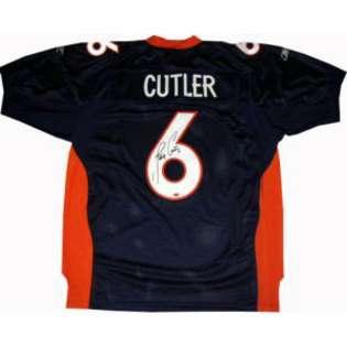 Sports Jay Cutler Signed Denver Broncos Reebok Authentic Jersey