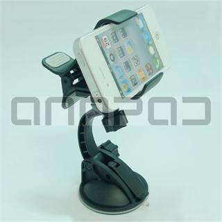 Windshield Holder Mount Cradle Stand For iPhone Cell Phone GPS